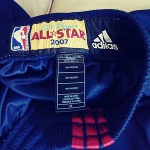 a15407ca2c355 adidas Shorts - Adidas NBA Authentic Shorts 2007 Las Vegas ASG